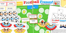 Phase 5 Sounds Football Board Game