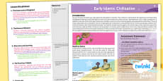 PlanIt - History UKS2 - Early Islamic Civilisation Planning Overview