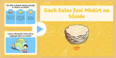 * NEW * When is Pancake Tuesday PowerPoint Gaeilge