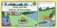 Fionn and the Salmon of Knowledge Story