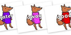 Next 200 Common Words on Small Fox 3 to Support Teaching on Fantastic Mr Fox