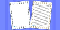 Giant Themed Page Borders