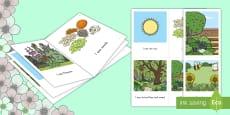 Spring Mini Book Emergent Reader