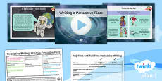PlanIt Y6 Space: The Golden Record Lesson Pack Persuasive Writing (7)