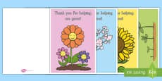 * NEW * Thank You for Helping Me Grow! Card Craft