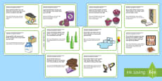 * NEW * KS1 Subtraction Word Problem Challenge Cards English/German