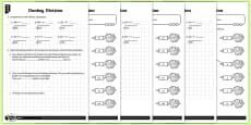 Short Division Activity Sheets