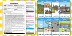 A Train Journey EYFS Adult Input Plan and Resource Pack
