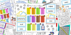 Multiplication Lapbook Creation Pack