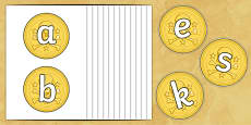 A-Z on Gold Coins