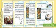 KS1 Ascension Day Differentiated Fact File