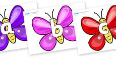 Phoneme Set on Butterflies