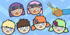 Fairy Role Play Masks