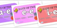 Modifying E Letters on Debit Cards