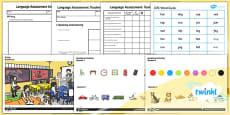 PlanIt - Intervention EAL - Basic Skills - Language Assessment