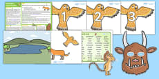 The Gruffalo KS1 Lesson Plan Ideas and Resources Pack