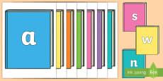 * NEW * A-Z Alphabet on Books