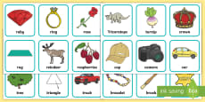 * NEW * Alliteration Picture Cards