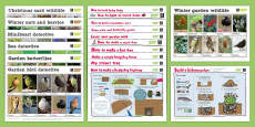 The Wildlife Trusts Activity Card