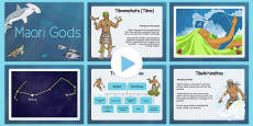 The Maori Gods PowerPoint