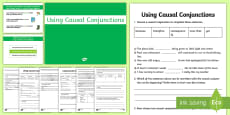 Causal Connectives PowerPoint Pack
