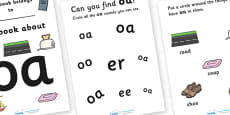 My Phase 3 Digraph Workbook (oa)