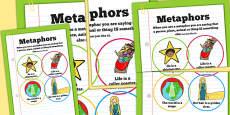 Metaphors Poster