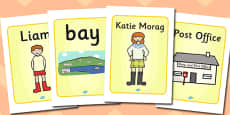 Display Posters to Support Teaching on Katie Morag