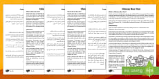 Chinese New Year Differentiated Reading Comprehension Activity English/Arabic