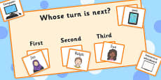 Whose Turn Is Next? Board