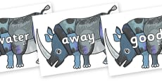 Next 200 Common Words on Rhinoceros to Support Teaching on The Bad Tempered Ladybird