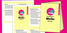 2014 Curriculum Overview Year 4 Maths