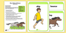 Skip, Gallop and Bounce Active Game