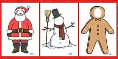 Face Editable Christmas Characters