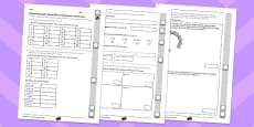 Year 4 Maths Assessment: Multiplication and Division Term 3