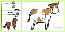0 to 31 on Farm Animals
