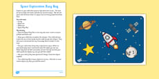 Space Exploration Activity Busy Bag and Resource Pack for Parents