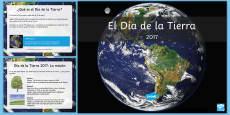 Presentación: Información sobre el Día de la Tierra