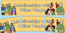 Relationships with Other People Display Banner NZ
