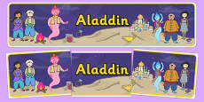Aladdin Display Banner
