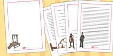 Crime and Punishment Page Borders