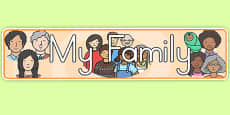Australia - My Family Display Banner