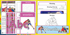 The Olympics Wrestling Resource Pack
