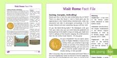 Visit Rome Fact File