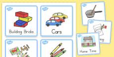 Australia - Visual Timetable For Kindergarten