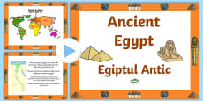 Ancient Egypt PowerPoint Romanian Translation