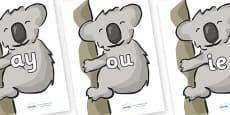 Phase 5 Phonemes on Koalas