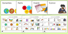 KS3 and KS4 Secondary Subject Key Words