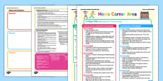 Home Corner Continuous Provision Plan Posters 16-26 to 40-60 Months