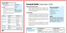 Football Skills Overview LKS2